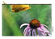 Butterfly In Flight Carry-all Pouch by Marty Koch