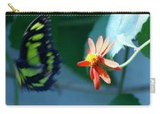 Butterfly In Flight Carry-all Pouch