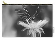 Butterfly In Motion #1952bw Carry-all Pouch