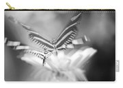 Butterfly In Motion #1961bw Carry-all Pouch