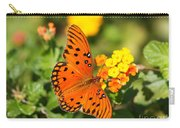 Butterfly In The Glades - Gulf Fritillary Carry-all Pouch