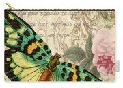 Butterfly Kisses-b Carry-all Pouch