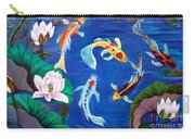 Butterfly Koi Carry-all Pouch