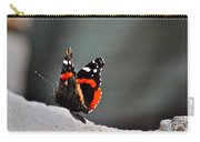 Butterfly Landing Carry-all Pouch