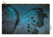 Butterfly Midnight Symphony Carry-all Pouch