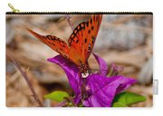 Butterfly On Bouganvilla Carry-all Pouch