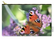 Butterfly On Buddleia Carry-all Pouch