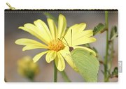 Butterfly On Daisy Carry-all Pouch