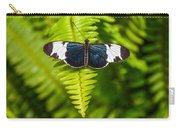 Butterfly On Fern Carry-all Pouch