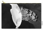 Butterfly On Peace Lilly Carry-all Pouch