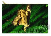 Butterfly On Pine Carry-all Pouch