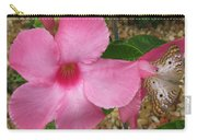 butterfly on the Mandevilla Carry-all Pouch