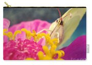 Butterfly On Zinnia Carry-all Pouch