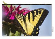 Butterfly Out Of The Blue - Blue Butterfly Art Carry-all Pouch