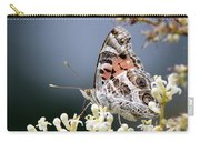 Butterfly - Painted Lady - Tasty Out Here Carry-all Pouch