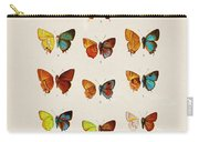 Butterfly Plate Carry-all Pouch
