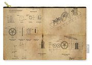 Butterfly Pump Carry-all Pouch by James Christopher Hill