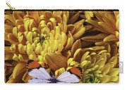 Butterfly Resting On Mums Carry-all Pouch
