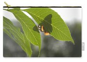 Butterfly Shadow Carry-all Pouch
