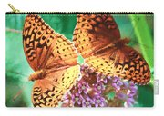 Butterfly Twins Carry-all Pouch