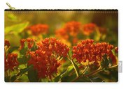 Butterfly Weed In The Sunset Carry-all Pouch