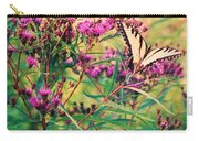 Butterfly Wildflower Carry-all Pouch