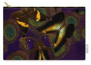 Butterfly Worlds Carry-all Pouch