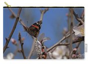 Butterfy In Almond Blossoms   #9289 Carry-all Pouch