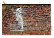 Buttermilk Waterfall Carry-all Pouch by Marcia Colelli