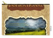 Button - Inspirational Carry-all Pouch