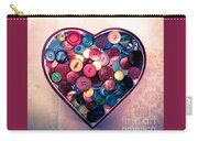 Button Love Carry-all Pouch