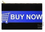 Buy Now Blue Carry-all Pouch