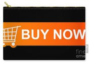 Buy Now Orange Carry-all Pouch