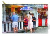 Buying Ice Cream At The Fair Carry-all Pouch