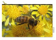 Buzzzzzy Carry-all Pouch by Lainie Wrightson