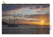 Bvi Sunset Carry-all Pouch