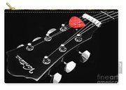 Bw Head Stock With Red Pick  Carry-all Pouch