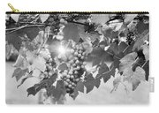 Bw Lens Flare Hanging Thompson Grapes Sultana Carry-all Pouch