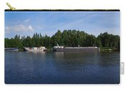 By A Canal Panorama Carry-all Pouch