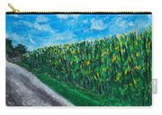 By An Indiana Cornfield The Road Home Carry-all Pouch