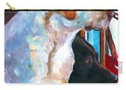 By My Side Carry-all Pouch by Molly Poole