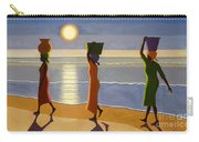 By The Beach Carry-all Pouch by Tilly Willis