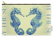 by the beautiful sea II Carry-all Pouch by Jane Schnetlage