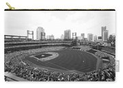 By The Right Field Foul Pole Bw Carry-all Pouch