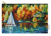 By The Rivershore Carry-all Pouch by Leonid Afremov