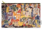 Byzantine Characters #1 Carry-all Pouch by Richard Baron