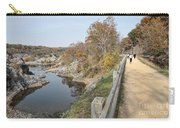 C And O Canal Above And Potomac River Below Carry-all Pouch