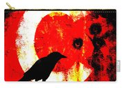 C Is For Crow Carry-all Pouch by Carol Leigh