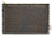 Ca-489 Moreland School Carry-all Pouch