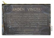 Ca-505 Almaden Vineyards Carry-all Pouch